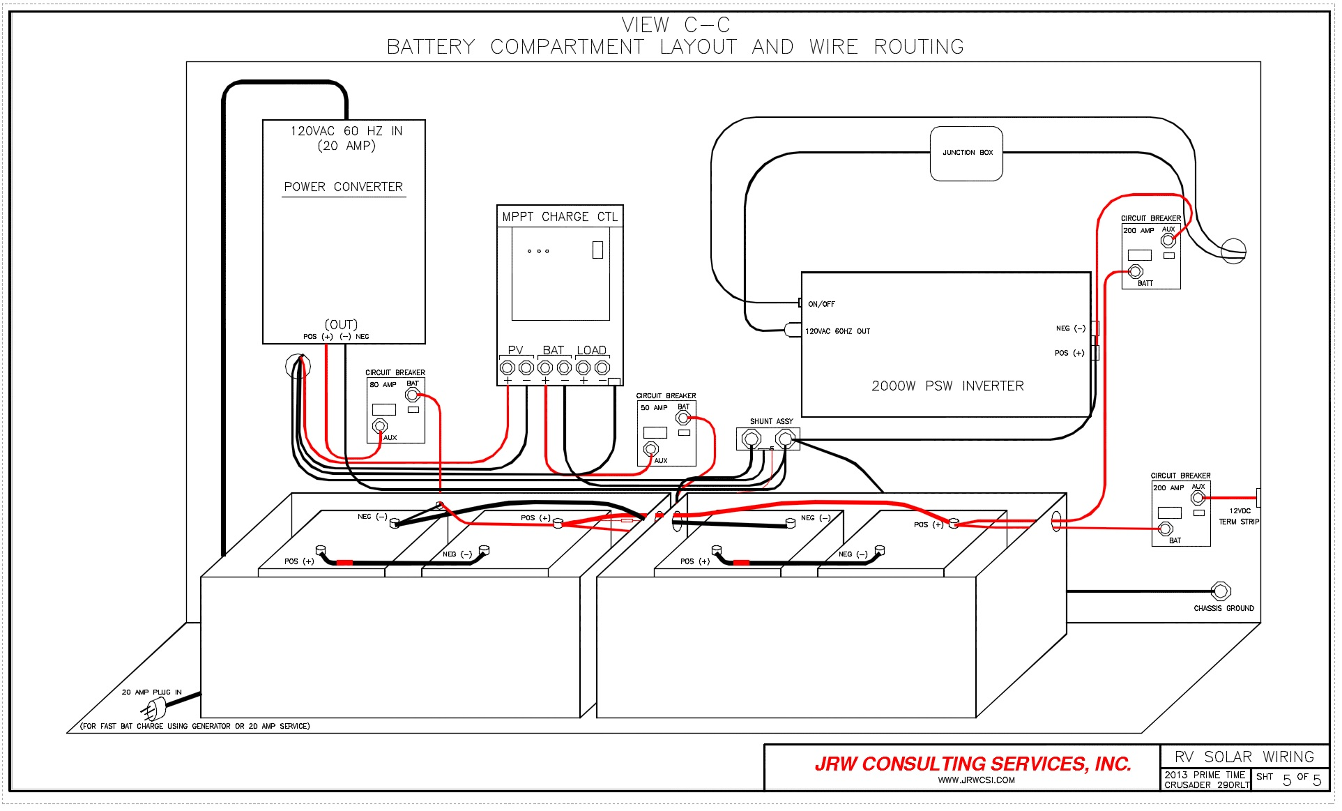 Wiring Diagram Rv Converter : Rv power upgrade live breathe move